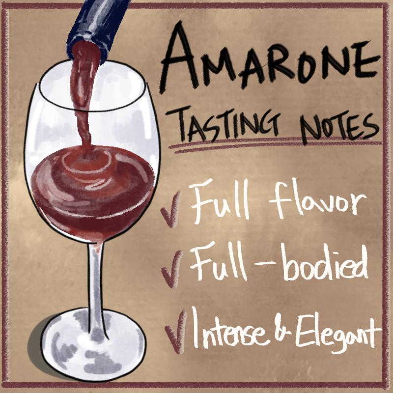 Amarone Tasting Notes