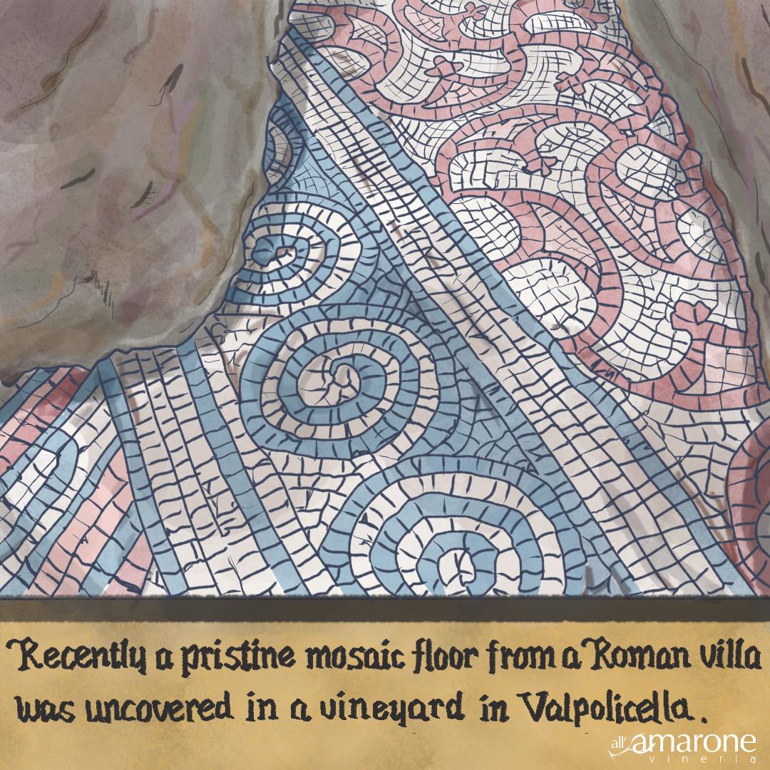 Old Roman Mosaic Valpolicella