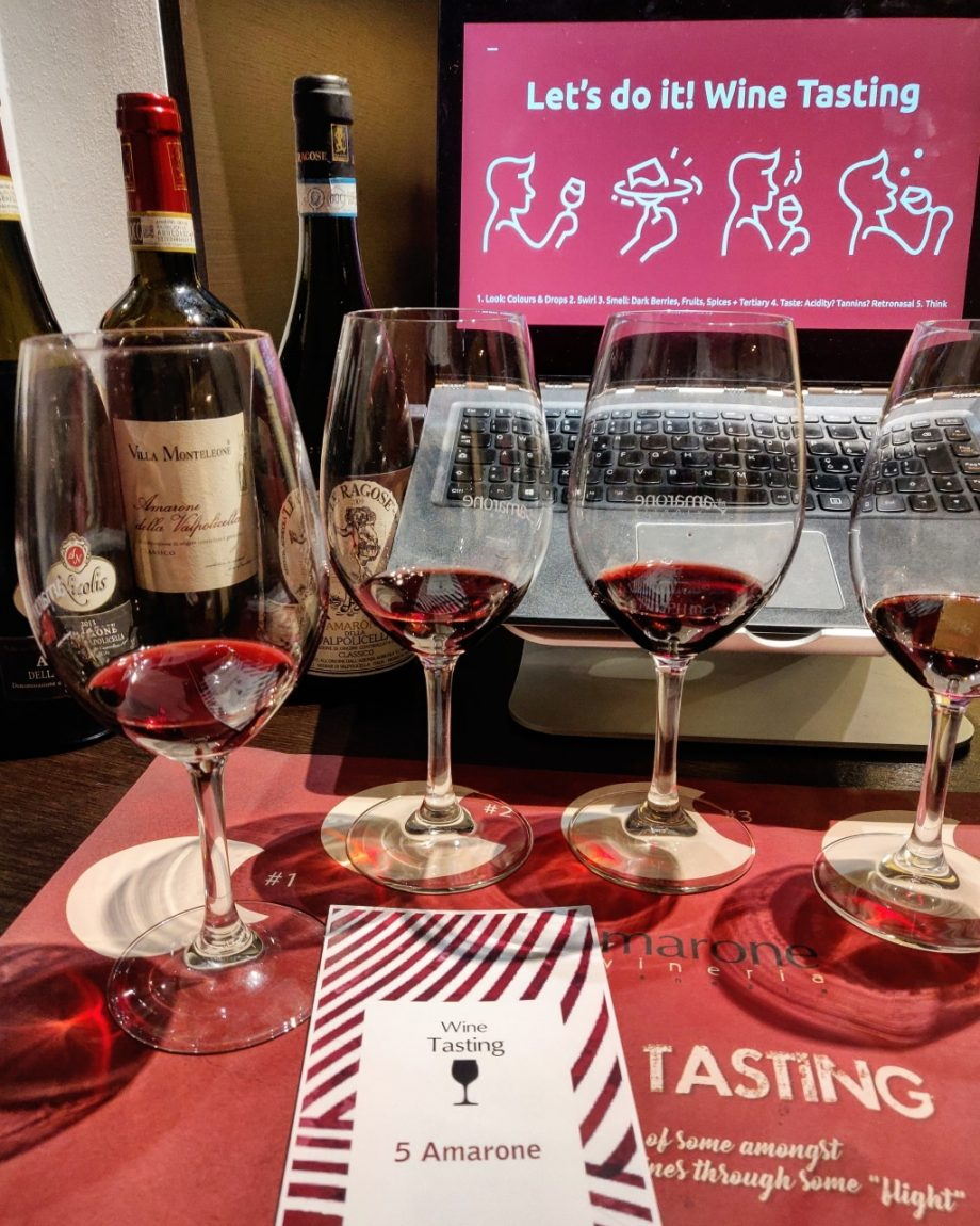 Online Amarone Wine Tasting